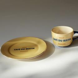 [협찬] CAFÉ de MATIN 오텀 컵 + 소서 세트